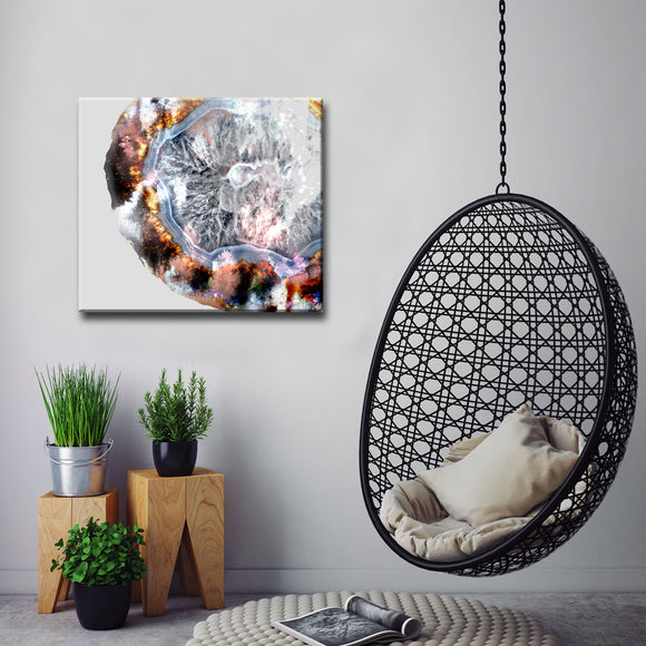 Ready2HangArt™ 'Agate Core II' Gallery Wrapped Canvas Art