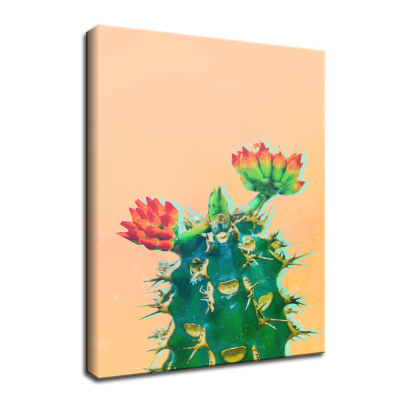 Ready2HangArt 'Color Me Cactus' Wrapped Canvas Wall Art