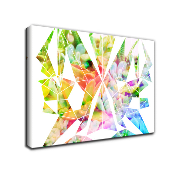 Ready2HangArt 'Spectrum Prism' Wrapped Canvas Wall Art