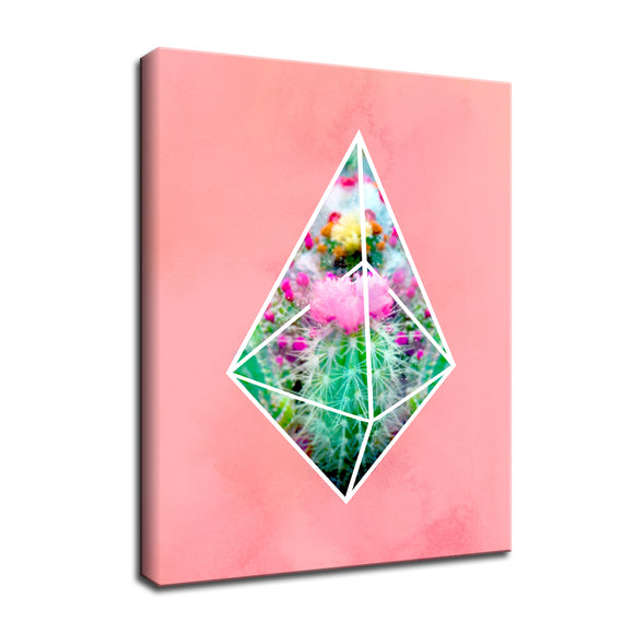 Ready2HangArt 'Terrarium Pink' Wrapped Canvas Wall Art