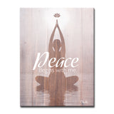 Ready2HangArt 'Peace Begins with Me' Inspirational Canvas Art by Olivia Rose