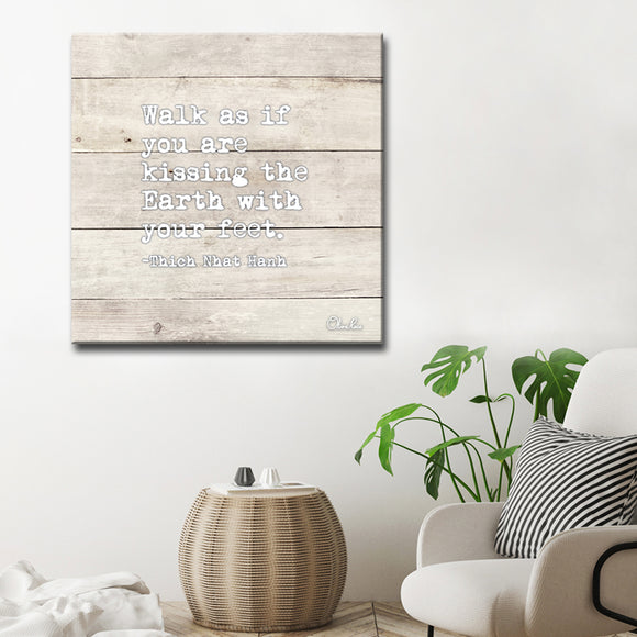 Ready2HangArt 'Walk' Inspirational Canvas Art by Olivia Rose