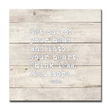 Ready2HangArt 'Feel More' Inspirational Canvas Art by Olivia Rose