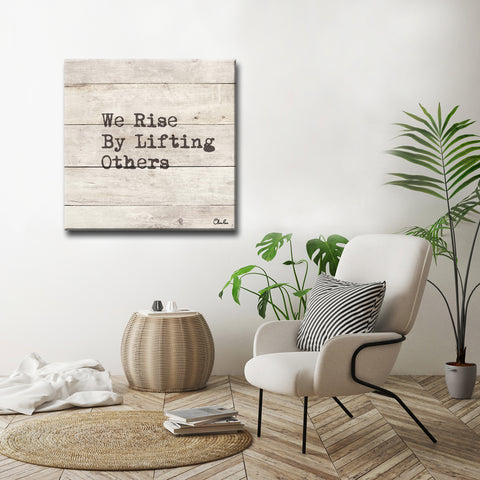 'Rise' Inspirational Canvas Art by Olivia Rose