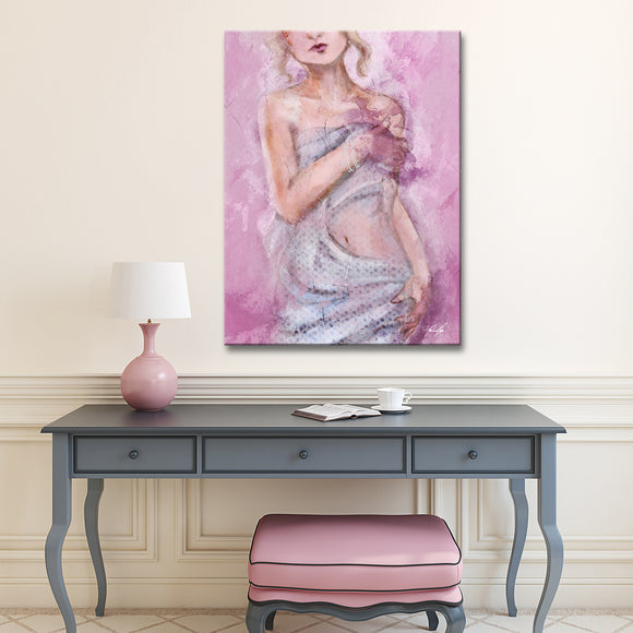 Ready2HangArt 'Nude October' Wrapped Canvas Art by Penelope