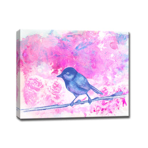 Ready2HangArt™ 'Bird Wash' Gallery Wrapped Canvas Art