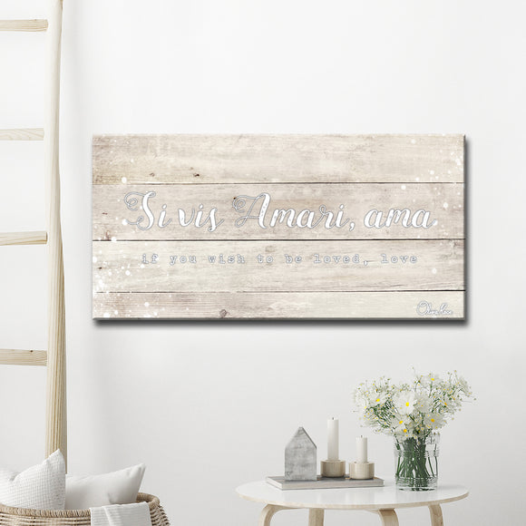 Ready2HangArt 'Ama' Inspirational Canvas Art by Olivia Rose