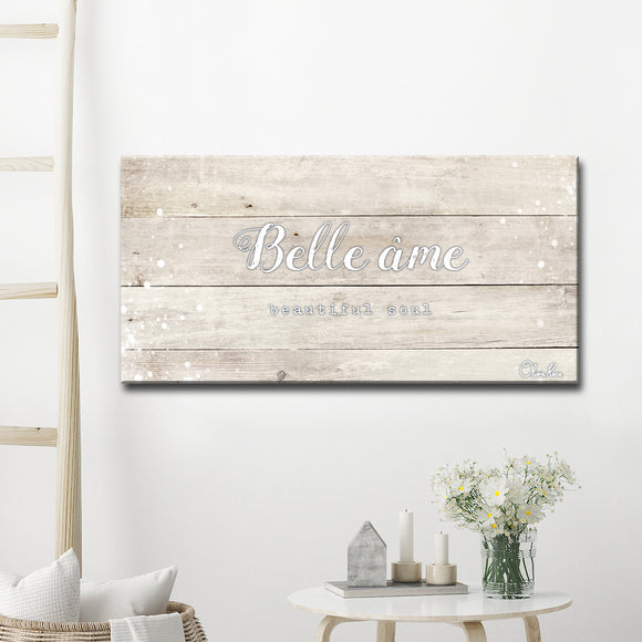 Ready2HangArt 'Bella Ame' Inspirational Canvas Art by Olivia Rose