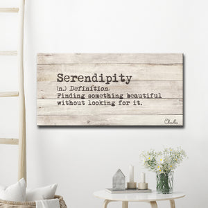 Ready2HangArt 'Define Serendipity' Inspirational Canvas Art by Olivia Rose