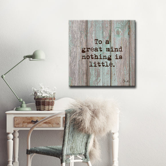 Ready2HangArt 'Great Mind' Inspirational Canvas Art by Olivia Rose
