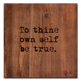 Ready2HangArt 'Be True' Inspirational Canvas Art by Olivia Rose