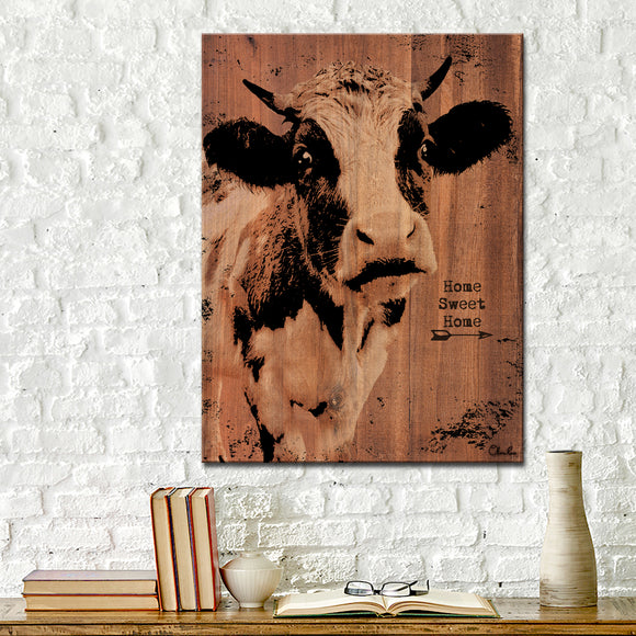 Ready2HangArt Farmhouse 'Cow' Wrapped Canvas Wall Art