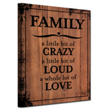 Ready2HangArt Farmhouse 'Family' Wrapped Canvas Wall Art