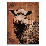 Ready2HangArt Farmhouse 'Sheep' Wrapped Canvas Wall Art