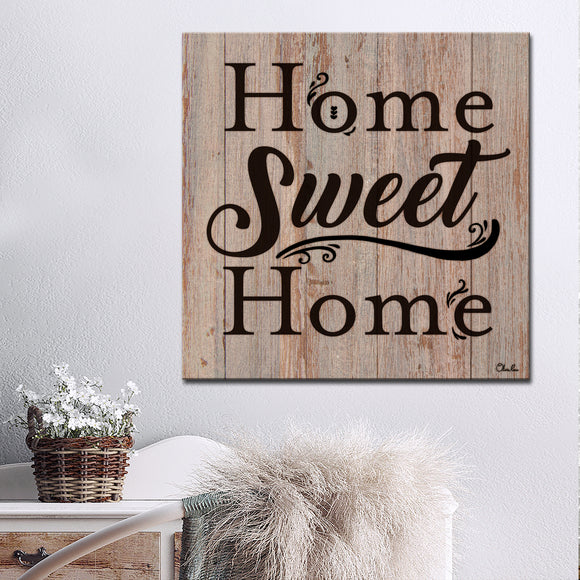 Ready2HangArt Farmhouse 'Home' Wrapped Canvas Wall Art