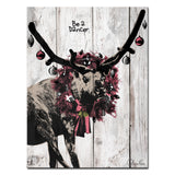 Ready2HangArt 'Christmas Dancer' Wrapped Canvas Textual Wall Art