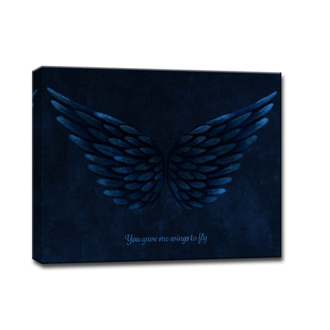 Ready2HangArt™ 'You gave me Wings to Fly' Wrapped Canvas Art