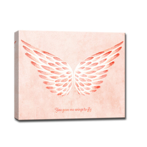 Ready2HangArt™ 'You gave me Wings to Fly II' Wrapped Canvas Art