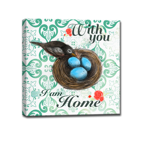Ready2HangArt™ 'With you, I am Home' Wrapped Canvas Art