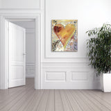 "Ready2HangArt Zane Heartwork ""Fabienne"" Canvas Art"