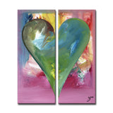 "Ready2HangArt Zane Heartwork ""Anna"" Canvas Art Set"