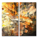 Ready2HangArt 'Abstract ABS I' Canvas Wall Art