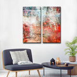 'Abstract ABS VI' Wrapped Canvas Wall Art