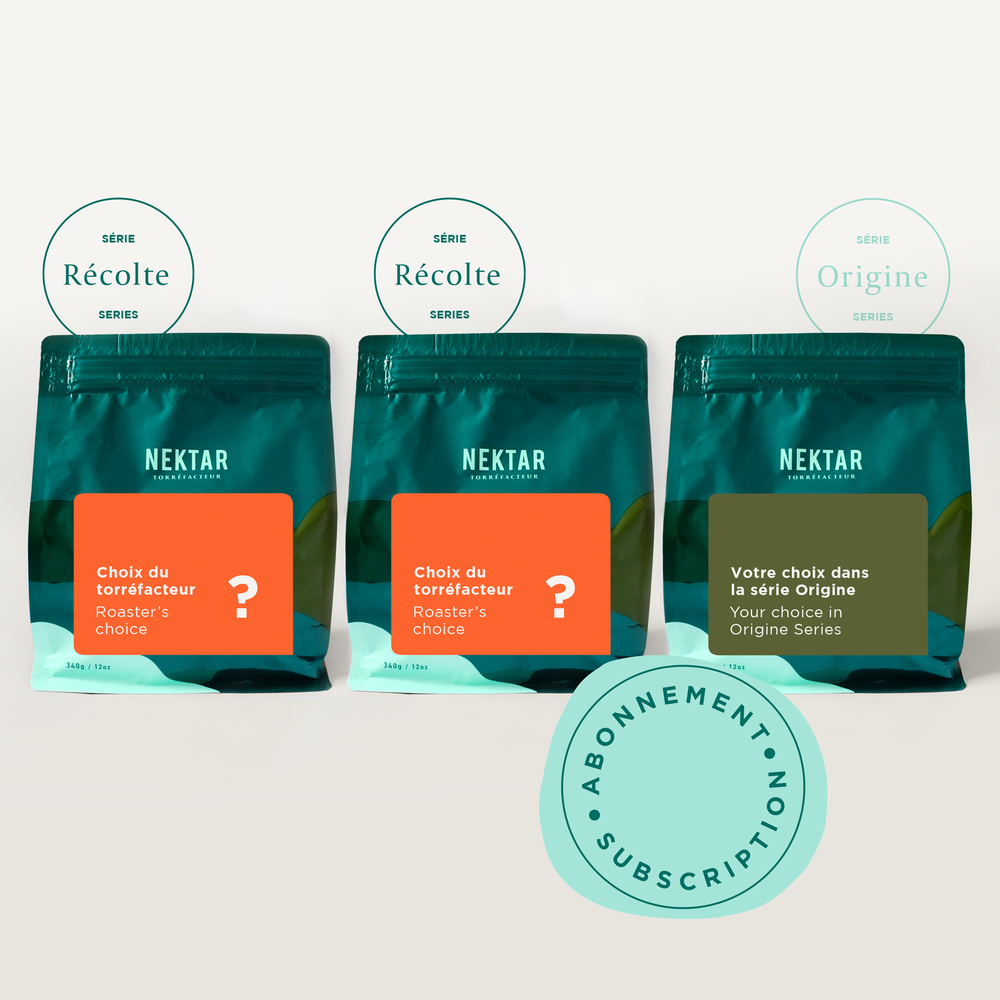 Subscription 3 bags of 12 oz