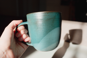 Handmade ceramic cup (filter size)