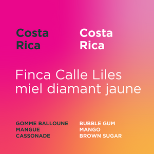 Costa Rica - Finca Calle Liles yellow diamond honey (Grand cru)
