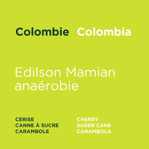 Colombie - Edilson Mamian anaérobie