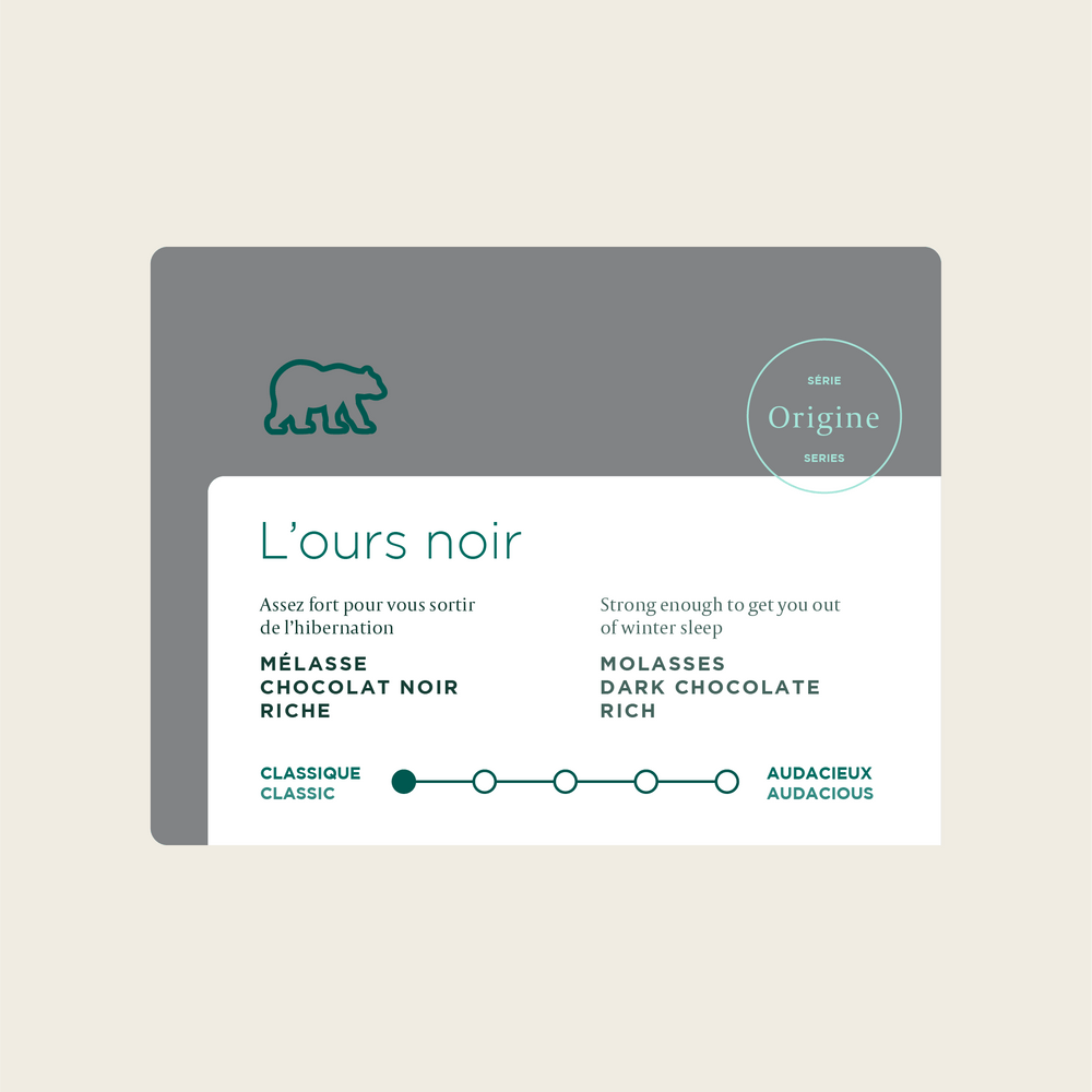 Load image into Gallery viewer, L'Ours Noir