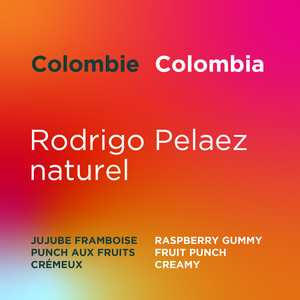 Colombie - Rodrigo Pelaez naturel