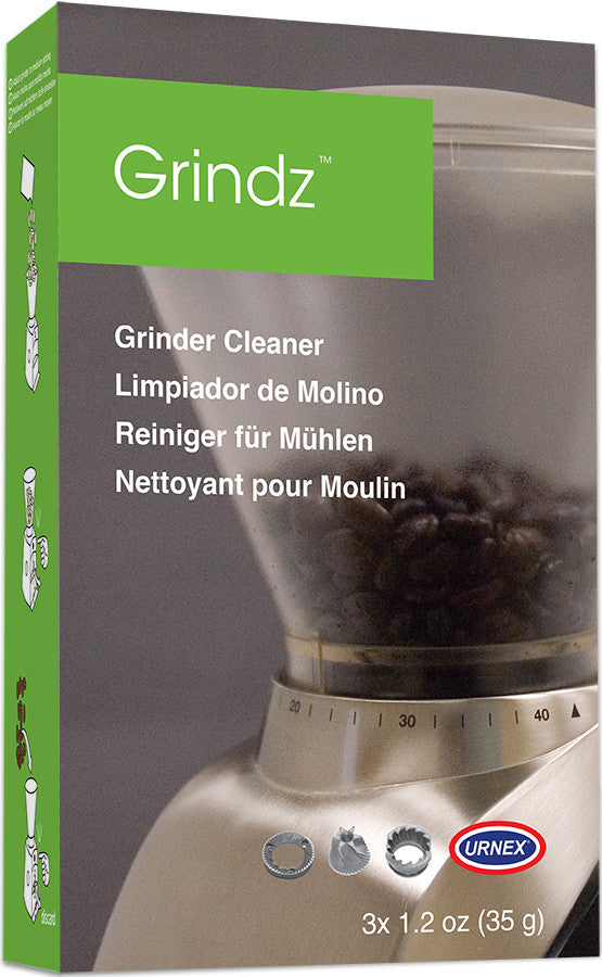 Grindz - Cleaning grounds for coffee grinders