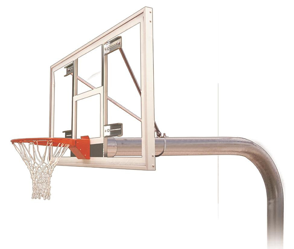 First Team Brute Supreme In Ground Outdoor Fixed Height Basketball Hoop 72 inch Acrylic