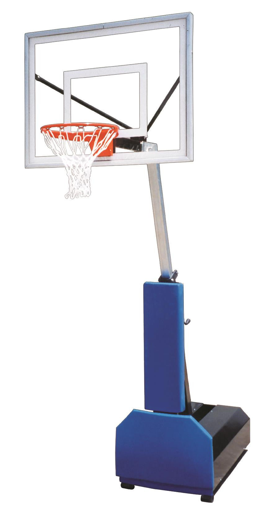 First Team Fury II Adjustable Portable Basketball Hoop 48 inch Acrylic