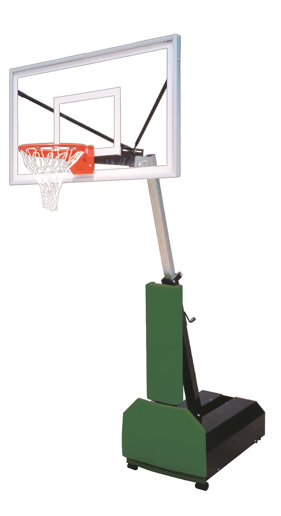First Team Fury Select Adjustable Portable Basketball Hoop 60 inch Acrylic