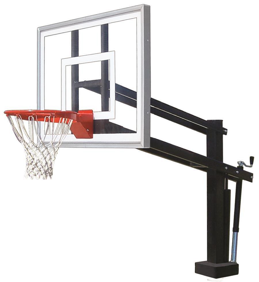 First Team HydroShot III Adjustable Pool Side Basketball Hoop 54 inch Acrylic