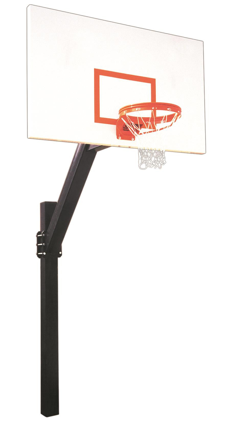 First Team Legend Excel In Ground Fixed Height Outdoor Basketball Hoop 72 inch Steel
