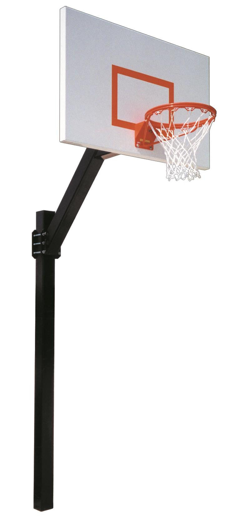 First Team Legend Jr Endura In Ground Fixed Height Outdoor Basketball Hoop 60 inch Aluminum