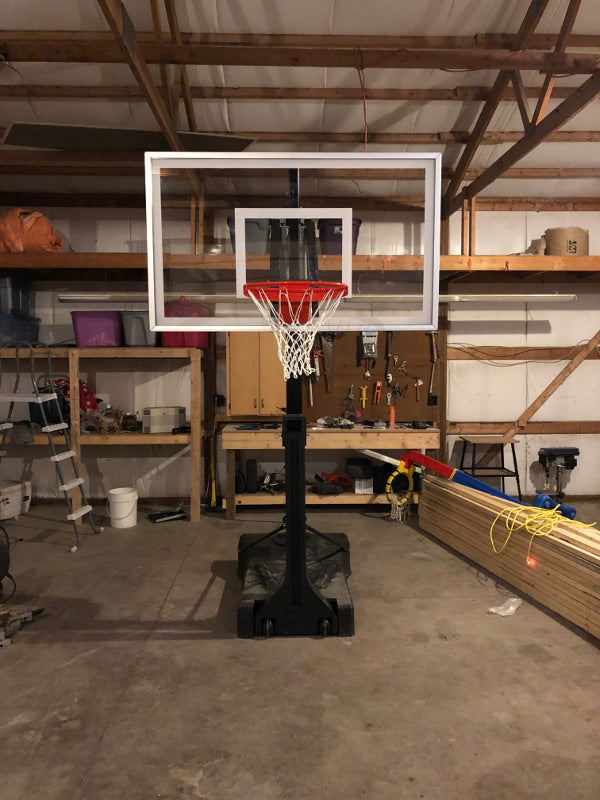 First-Team-OmniSlam-Portable-Basketball-Hoop-Garage