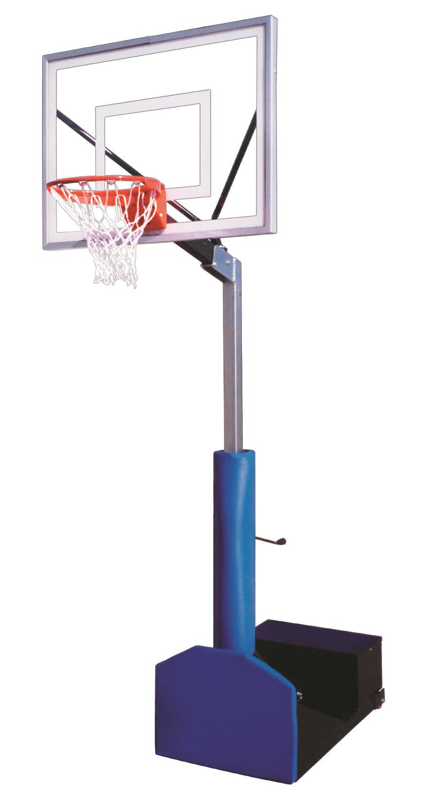 First Team Rampage III Adjustable Portable Basketball Hoop 54 inch Acrylic