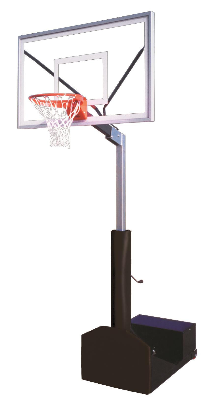 First Team Rampage Select Adjustable Portable Basketball Hoop 60 inch Acrylic