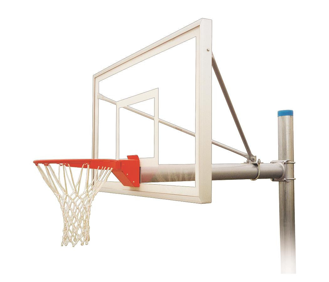 First Team Renegade Select In Ground Outdoor Fixed Height Basketball Hoop 60 inch Acrylic