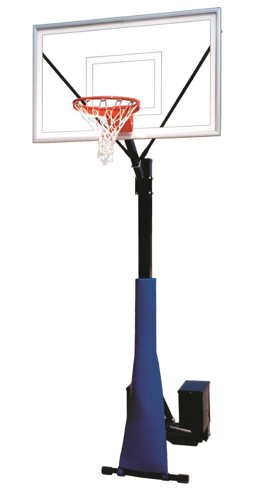 First Team Rolla Sport Select Portable Fixed Height Basketball Hoop 60 inch Acrylic