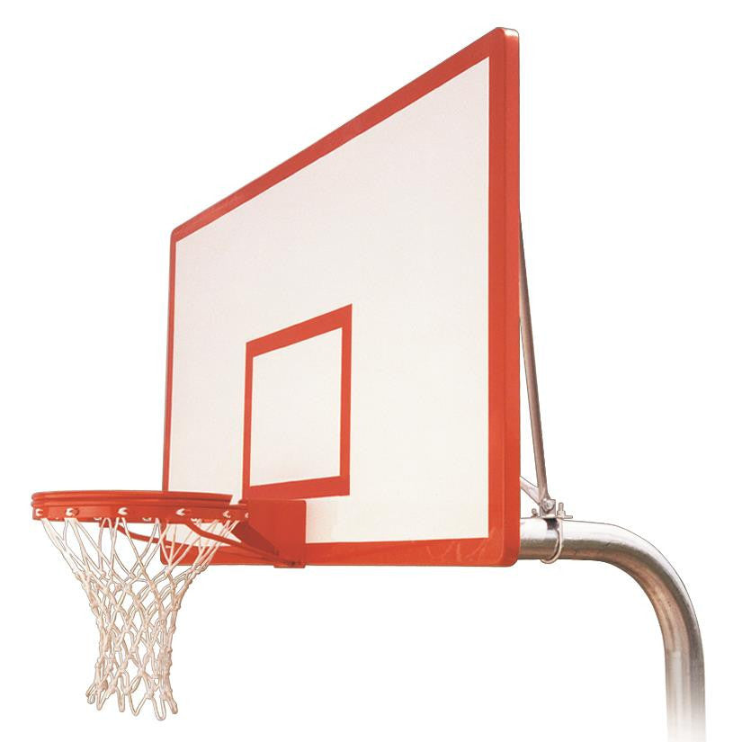 First Team Ruffneck Dynasty In Ground Outdoor Fixed Height Basketball Hoop 72 inch Fiberglass