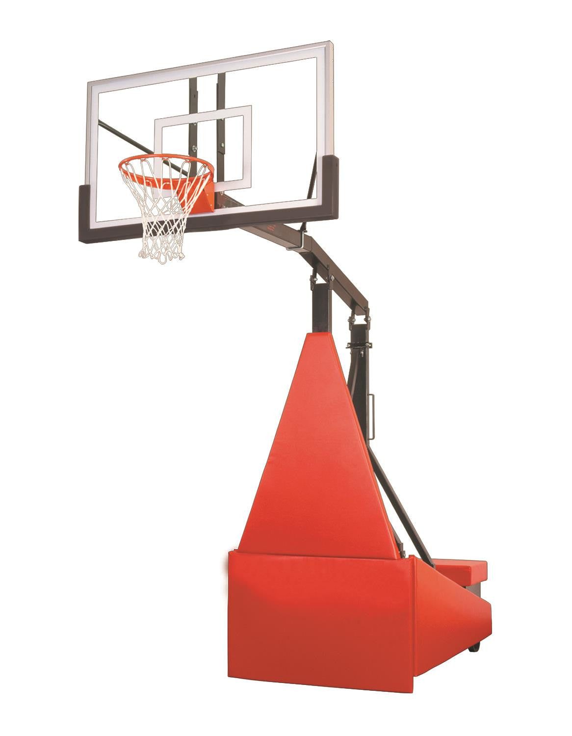 First Team Storm Select Portable Adjustable Basketball Hoop 60 inch Acrylic