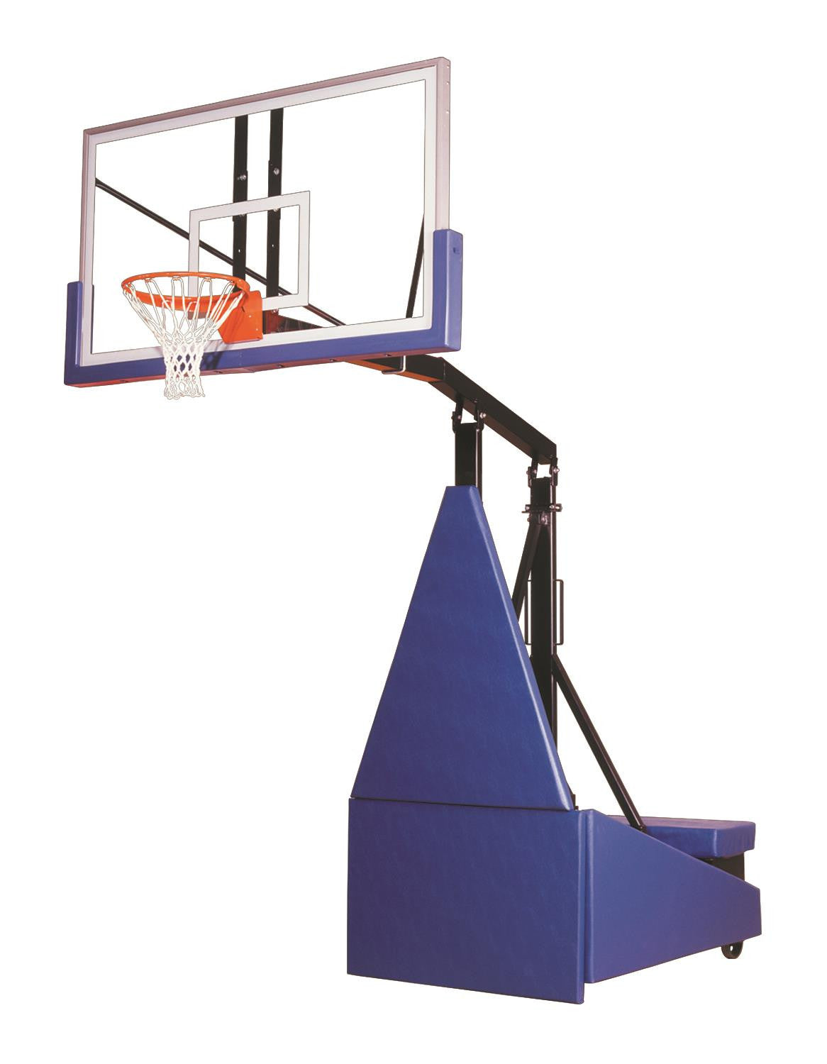 First Team Storm Supreme Portable Adjustable Basketball Hoop 72 inch Acrylic
