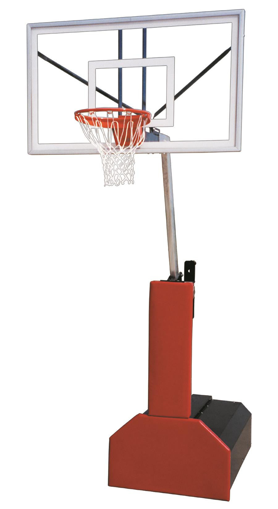 First Team Thunder Select Portable Adjustable Basketball Hoop 60 inch Acrylic
