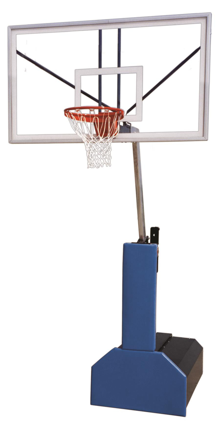 First Team Thunder Supreme Portable Adjustable Basketball Hoop 72 inch Acrylic